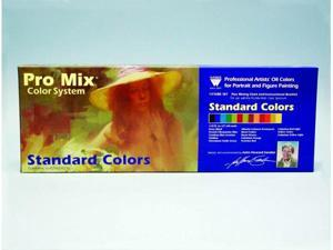 Martin - F. Weber 2523 John Sanden Pro Mix Standard Color Oil Color Set - 13 Color
