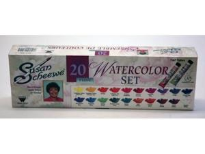 Martin - F. Weber S8512 Scheewe 20 Tube Watercolor Set