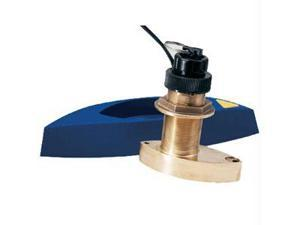 Raymarine Bronze TH Transducer with Depth, Speed, and Temperature - Includes High-Speed Fairing Block