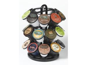 Nifty 5671 27 K-Cup Carousel for Keurig Coffee Cups - Black