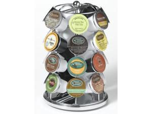 Nifty 5728 28 K-Cup Carousel for Keurig Coffee Cups - Chrome