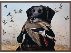Custom Printed Rugs KING BUCK King Buck Wildlife Rug