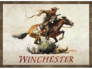 Custom Printed Rugs HORSE AND RIDER Horse And Rider Wildlife Rug