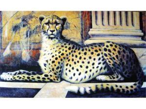 Custom Printed Rugs DM  10 Cheetah Door Mat