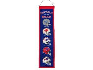 Winning Streak Sports 44029 Buffalo Bills Heritage Banner