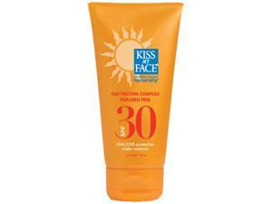Kiss My Face Oat Protein Sunscreen, SPF30, 4 Ounce