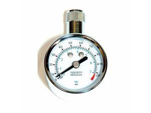 VIAIR 90071 1.5 in. Tire Gauges 0-100 PSI