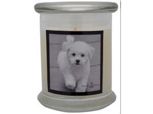Aroma Paws 353 Breed Candle 12 Oz. Jar - Bichon Frise