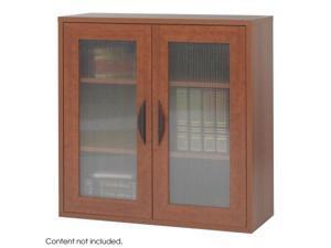 Safco 9442CY Cherry Apres Modular Storage 2 Door Cabinet