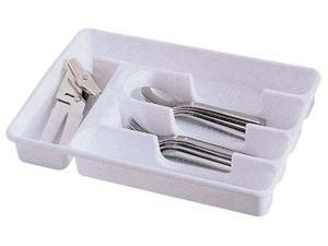 Rubbermaid Small Cutlery Trays  2919RDWHT - Pack of 6