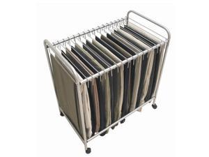 Jobar International RET3616 Rolling Pants Trolley