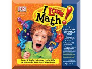 Nova Development I Love Math! 1.1 Win 00/XP/Vista CD- Software