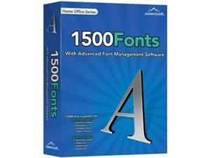 Summitsoft Corp 00184-7 1500 Fonts with Productivity Genre