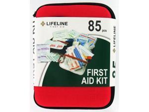 Lifeline First Aid Llc 85 Piece Large Hard Shell First Aid Kit  4408