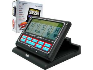 Portable Video Poker Touch-Screen 7 in 1 - Black & White