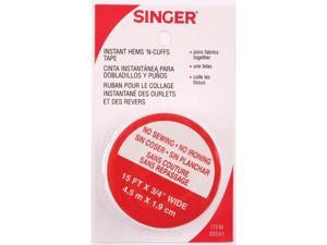 Singer .75in. X 15ft. Instant Hems ft.N Cuffs Tape  00241