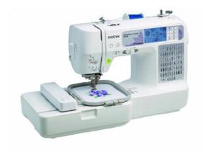 BROTHER SE400 SEW Combo Sewing and Embroidery-USB