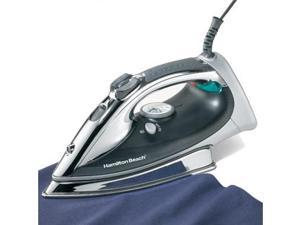 HAMILTON BEACH 14977Z Professional Stainless Steel Iron - Black