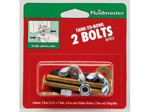 Fluidmaster Tank-To-Bowl 2 Bolts  6101