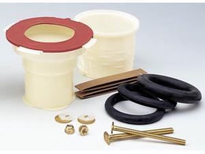 Fluidmaster Wax-Free Toilet Installation Bowl Gasket 7500P8