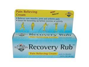All Terrain 360051 Recovery Rub 3oz. Tube