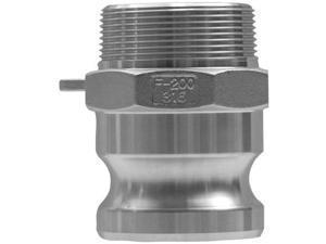 Dixon Valve 238-G400-F-AL 4 Inch Alum Global Male Nptx Male