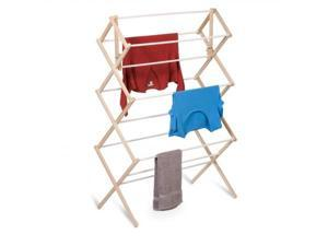Honey Can Do Dry 01638 Heavy Duty Wood Accordion Drying Rack A