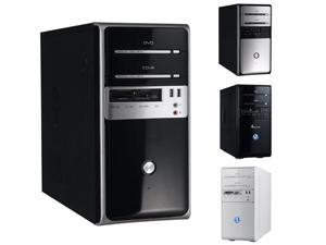 Winsis Inc WN-26 MicroATX Mini Tower 2-2-2 Card Reader USB 350W P-S Black Silver