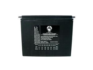 Upg 42029 Ubvt-7, Sealed Agm V-Twin Power Sports Battery
