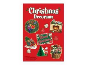 Beistle - 20803 - Christmas Decorama - Pack of 6