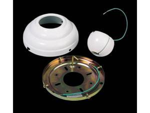 MC95WH White Slope Ceiling Canopy Adapter