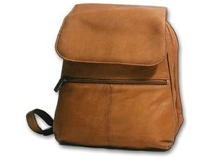 David King & Co 351T Women s Organizer Backpack- Tan