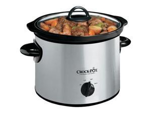 CROCK-POT SCR300-SS Crock-pot scr300-ss 3-quart round slow cooker