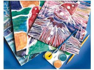 SCRATCH-ART COMPANY INC. SCR1295 BATEEK-O 30 WAX SHEETS 30 ART SHTS BATEEK-O