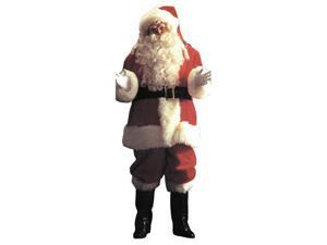 Costumes For All Occasions AE04 Santa Suit Deluxe 9191