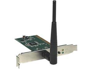 Intellinet 524810 Wireless 150N PCI Card connects Desktop PC to A Wireless Network