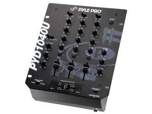 Pyle Pro 10 Inch 3-Channel Mixer With USB - PYD1040U