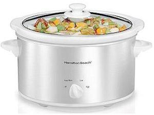 Hamilton Beach 33140V-S-S 4 Quart Slow Cooker