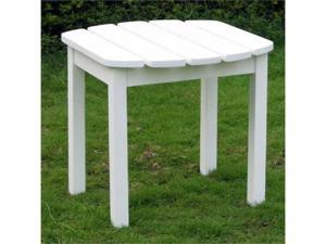 International Concepts T-51900 Adirondack SideTable in White
