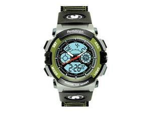Armitron 201437GRN Mens Watch in Green