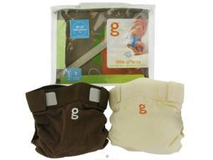 Gdiapers 62108 Little Gpant 2pk Small