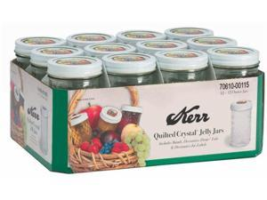 Hearthmark 12 Oz Decorative Jelly Jars  7061000115