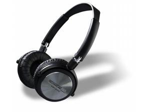 Technical Pro hp220 Professional DJ Headphones with Adapter and Case