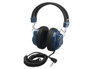 Hamilton Electronics MPC-2900PC Deluxe Mono Headphone with 1 - 4 in. adapter- permanentaly attached cord