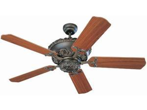 5AB52RB Aberdeen 52 in. Roman Bronze Ceiling Fan With Teak Blades