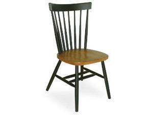 Whitewood C57-385 Dining Essentials Assembled Chair - Black - Cherry