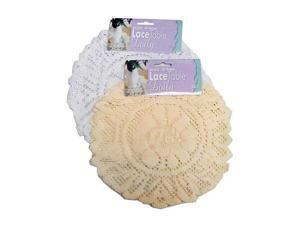 Round lace doily -set of 3 - Pack of 96