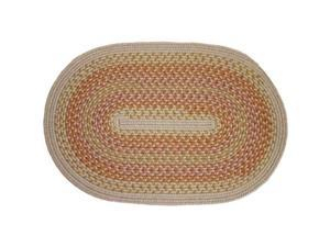 Rhody Rug M-814-10R Millennium Sunrise 10 ft. Round Braided Rug