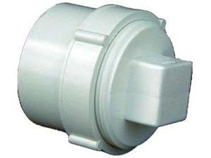 Genova Products 4in. Sch. 40 PVC-DWV Clean-Out Fitting With Threaded Plug  71640
