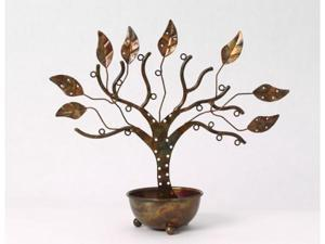 Ancient Graffiti ANCIENT83212 Large Jewelry Tree with Bowl - 6.5h x 20.5w x 18ln